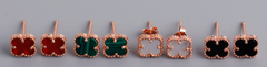 Van Cleef & Arpels VCA Alhambra 18K Gold Earrings