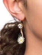 MIU MIU Jasmine Crystal EARRINGS