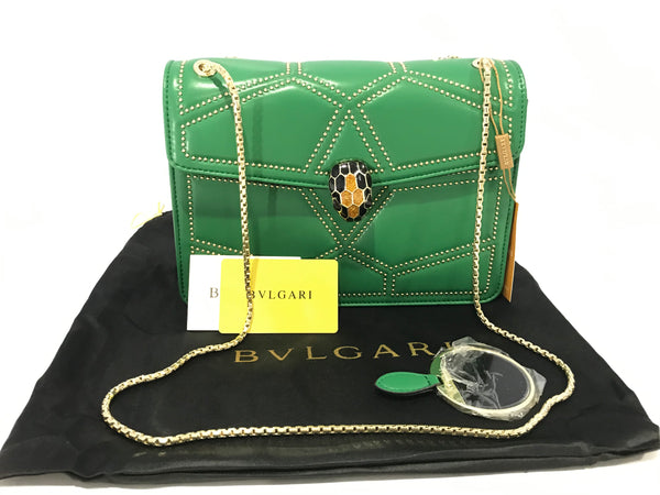 BVLGARI SHOULDER PURSE BAG NEW WITH TAG