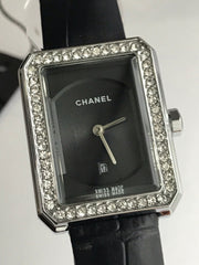 CHANEL BOYFRIEND WATCH NEW WITH BOX AND TOTE BAG