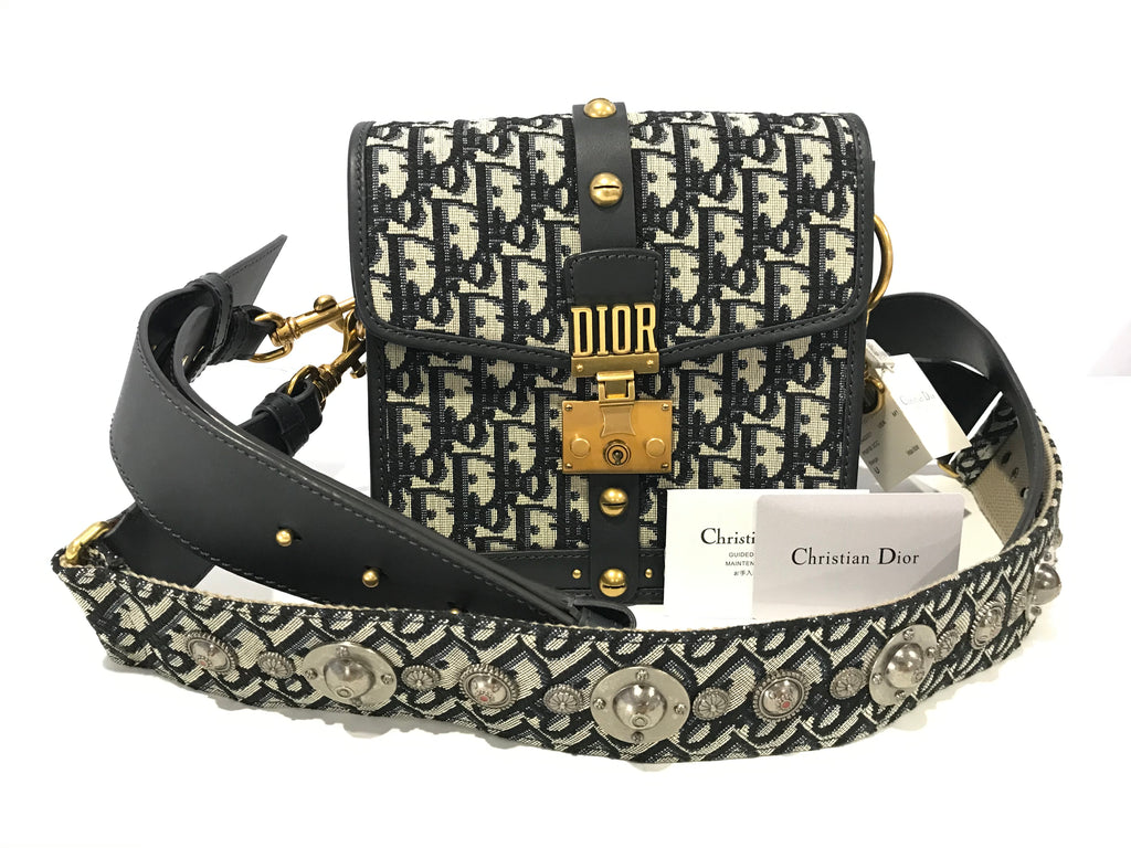DIORADDICT BAG NEW w Tag Blue Dior Oblique Jacquard Reference: M5818CTZO_M928