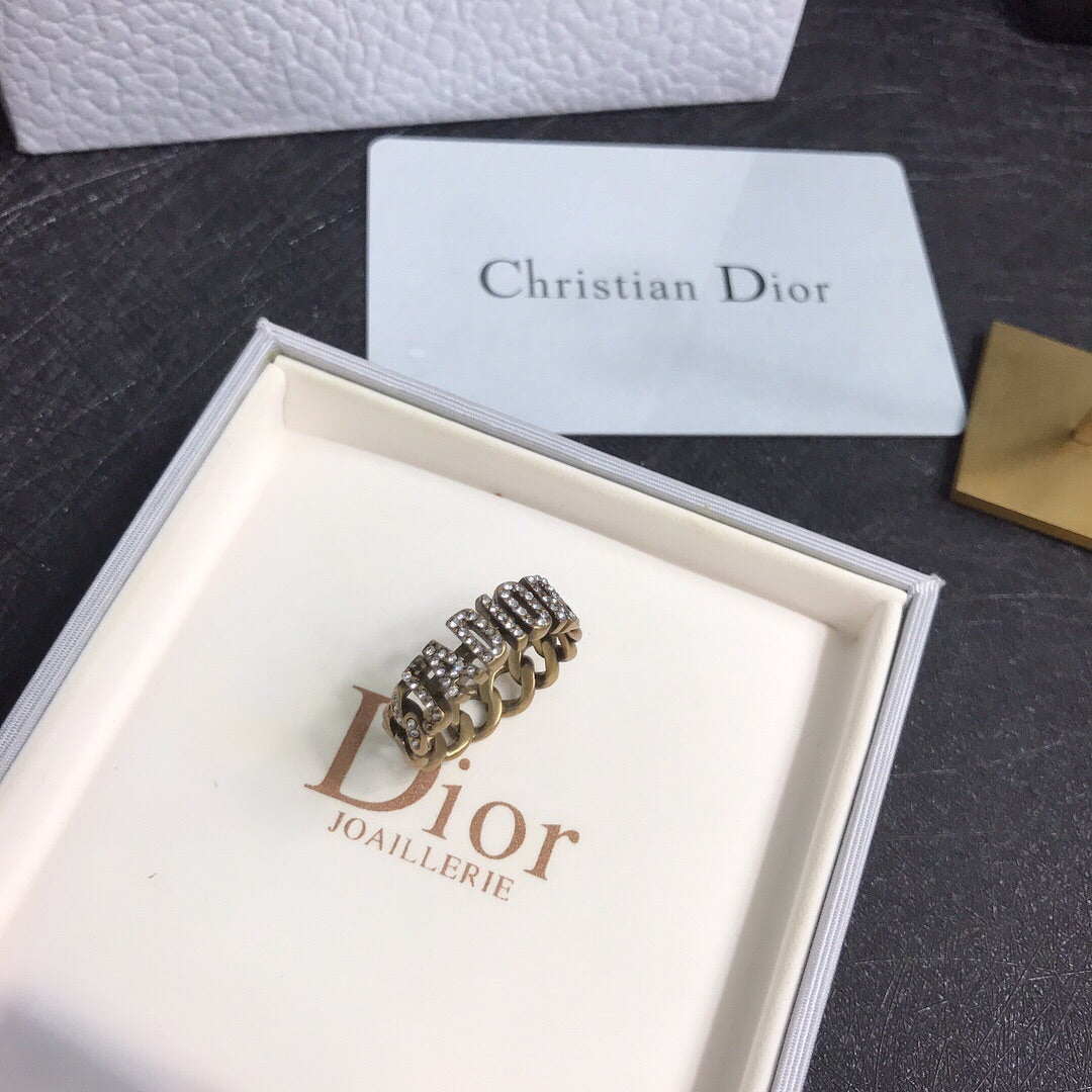 Christian Dior Ring Earrings