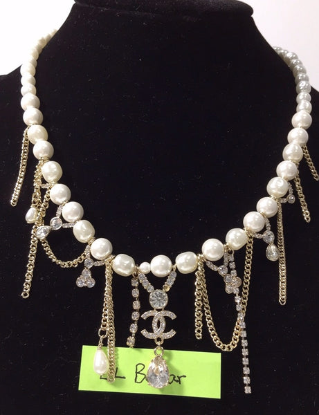 Chanel Pearl Charms Necklace
