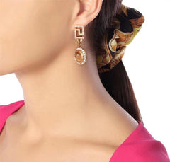 Versace Earrings Gold