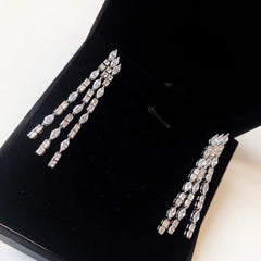 PIAGET WHITE GOLD DIAMOND Earrings