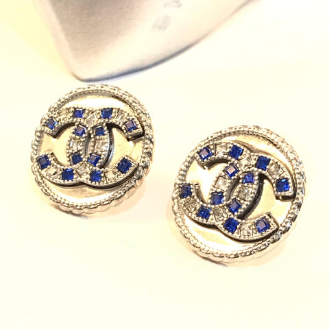 Copy of CHANEL Button EARRINGS