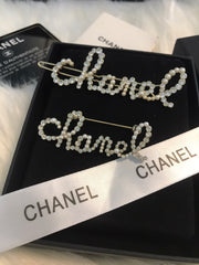 Chanel hair pin hair clip