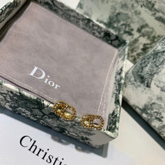 Christian Dior mini Crystal Earring Studs