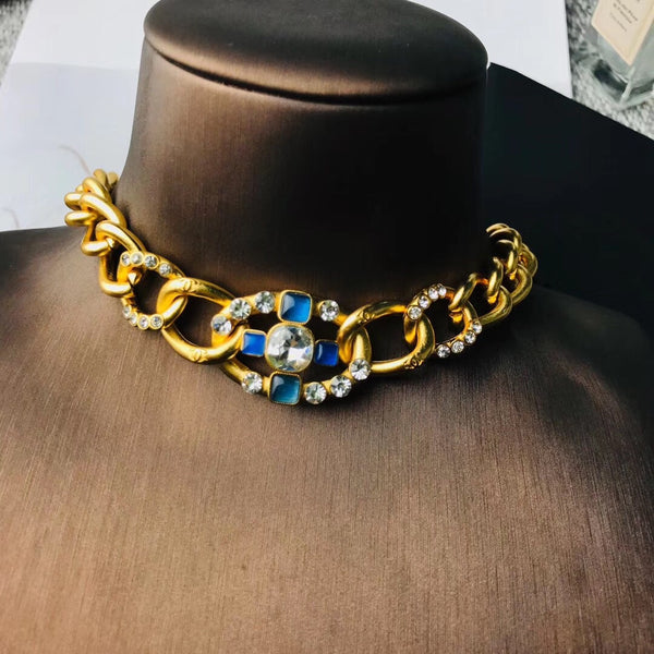 CHANEL GOLD CHAIN NECKLACE/ BRACELET