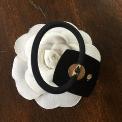 Chanel elastic hair band hair tie