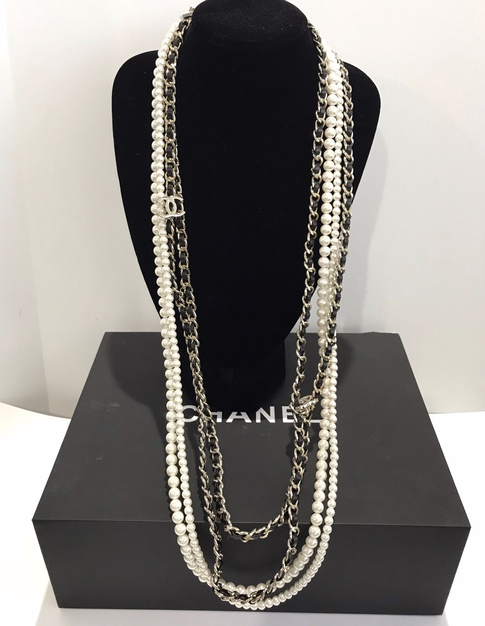 Chanel Layered Necklace