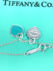 Tiffany &Co. heart tags pendant necklace