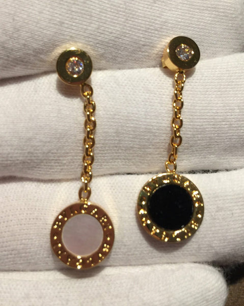 BVLGARI DANGLE EARRINGS