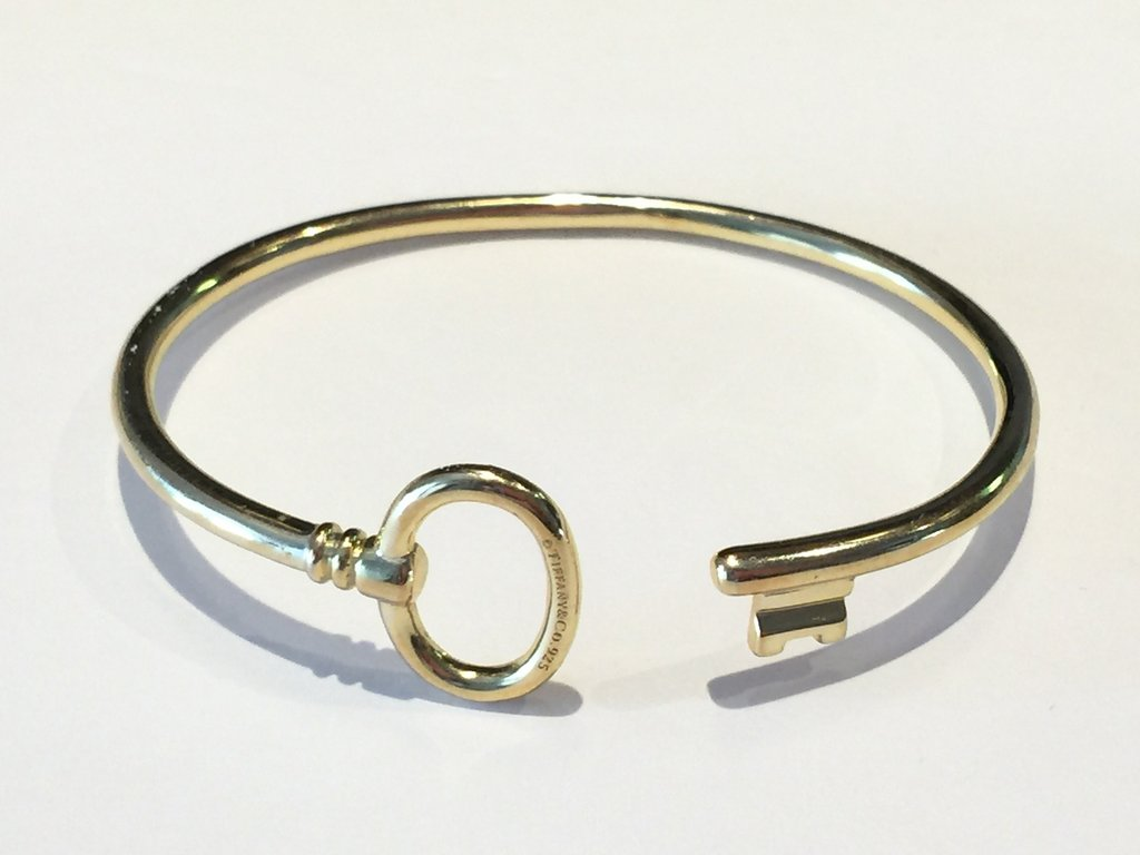 Tiffany&Co. key bracelet