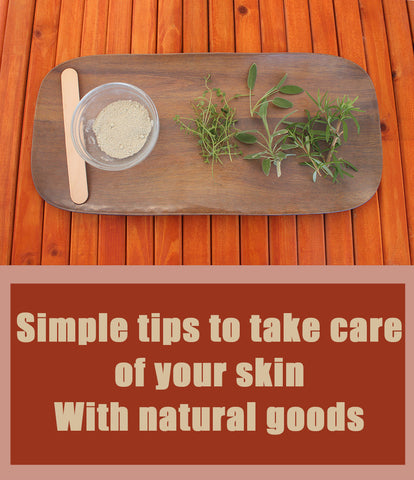 2 simple tips to take care of your skin!