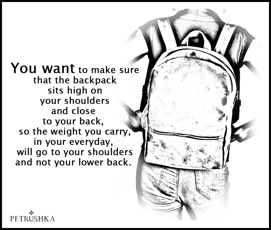 2 important things to Know when you choose your everyday backpack!