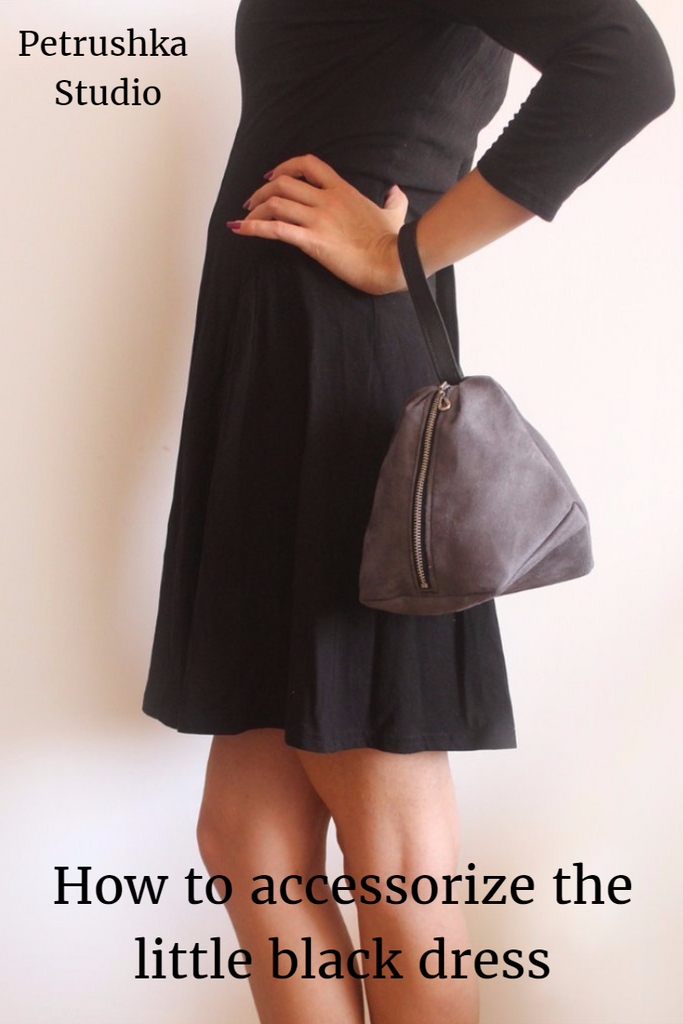 How to accessorize the little black dress.