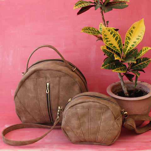 The Toulouse bag and the Albi bag - vegan bags by Petrushka studio
