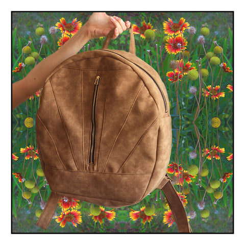 The Lyon backpack Vegan and eco friendly backpack by Petrushka studio