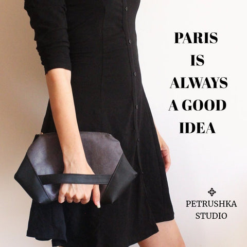 Paris clutch bag by Petrushka studio
