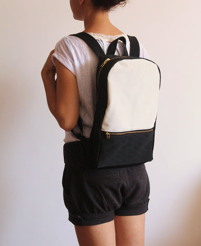 Tha Milan backpack - Vegan backpack by Petrushka studio