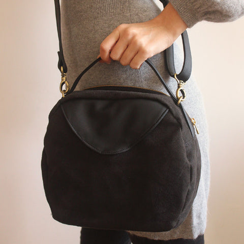 Tokyo bag, everyday black crossbody bag for modern woman