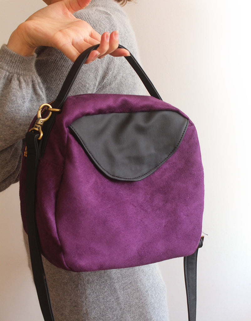 TOKYO BAG, purple crossbody bag for the modern woman
