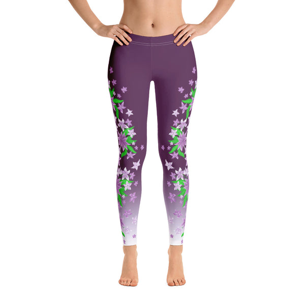 Flowers Leggings by Petrushka Studio