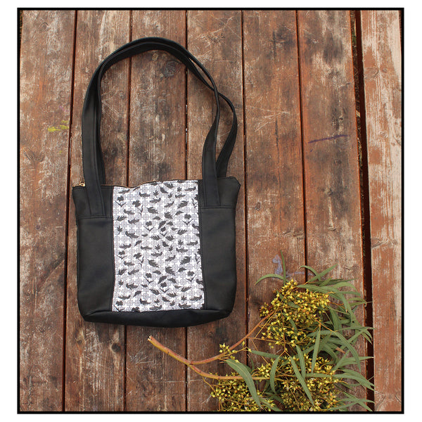 Barcelona Tote bag, small tote bag for your every day. Eco friendly tote bag by Petrushka studio