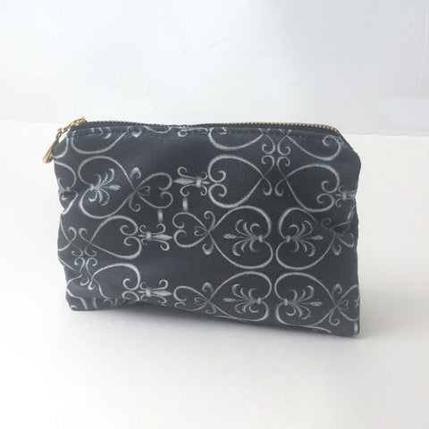 CHICAGO MINI CLUTCH, with black and white print by Petrushka Studio