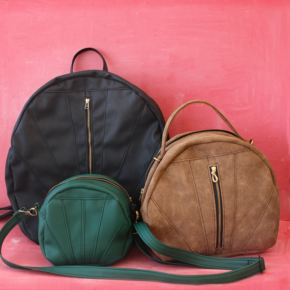 Vegan cross-body bags by By Petrushka Studio