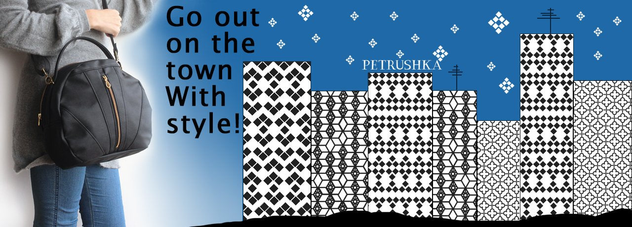 modern clutch bags to go out on the town with style by petrushka studio
