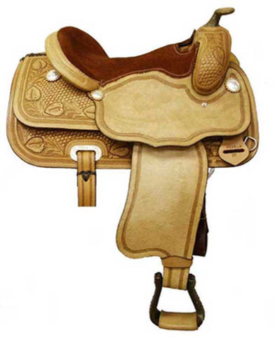 Leather Western Saddle WS-1050 - Zohranglobal.com