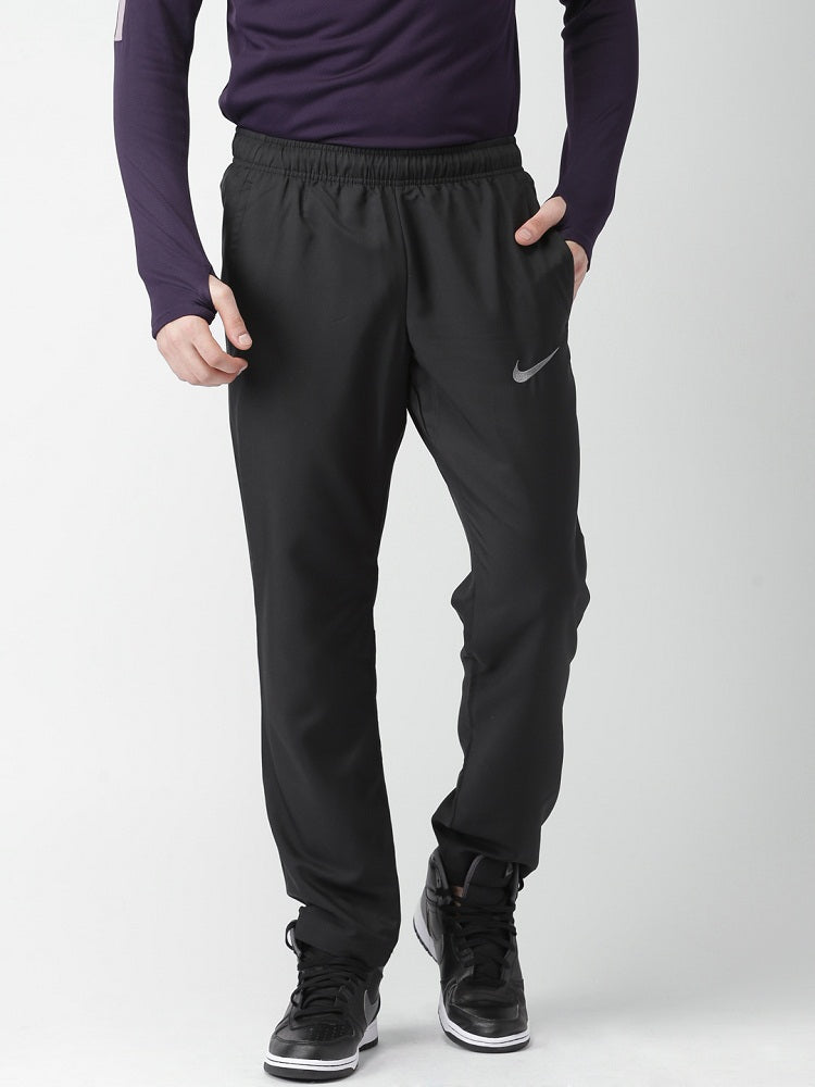 Nike Men Black Lower / Trackpant Sty-12