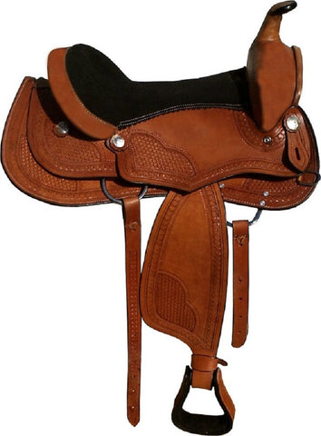 Leather Western Saddle WS-209 - Zohranglobal.com