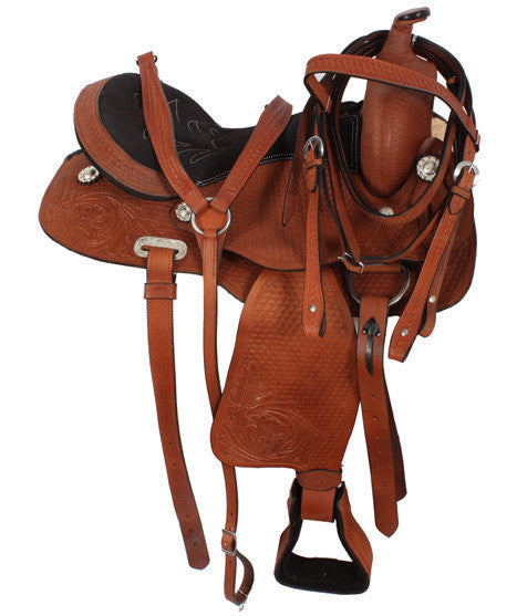 Leather Western Saddle WS-2264 - Zohranglobal.com