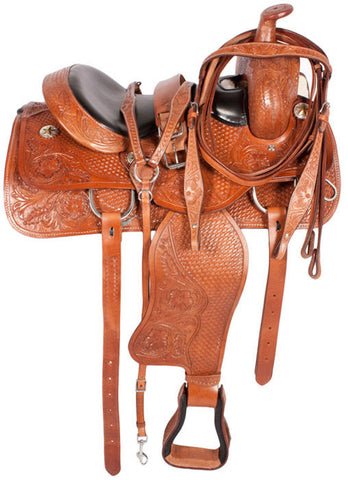 Leather Western Saddle WS-3064 - Zohranglobal.com