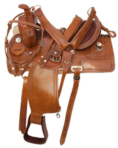 Leather Western Saddle WS5402 - Zohranglobal.com