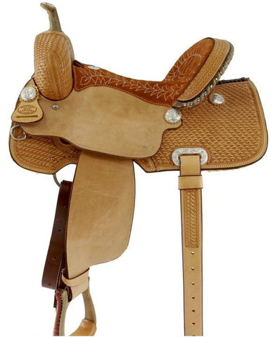 Leather Western Saddle WS-5418 - Zohranglobal.com