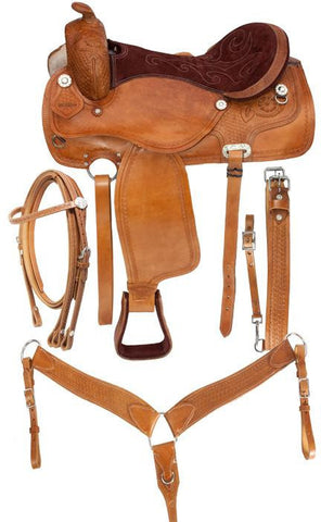 Leather Western Saddle WS-5517 - Zohranglobal.com