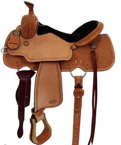 Leather Western Saddle WS-5539 - Zohranglobal.com