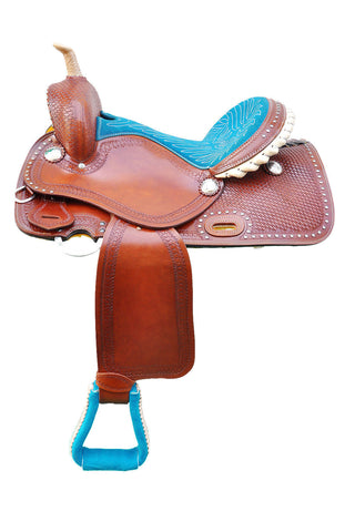Leather Western Saddle WS-123 - Zohranglobal.com