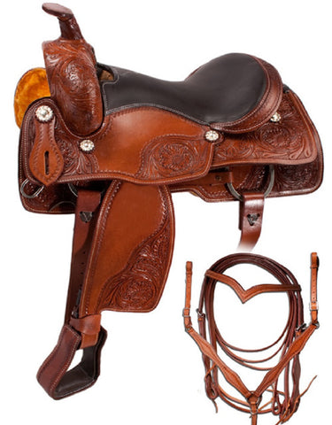 Leather Western Saddle WS-124 - Zohranglobal.com