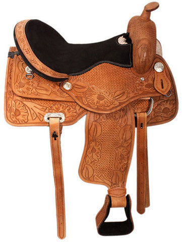 Leather Western Saddle WS-125 - Zohranglobal.com