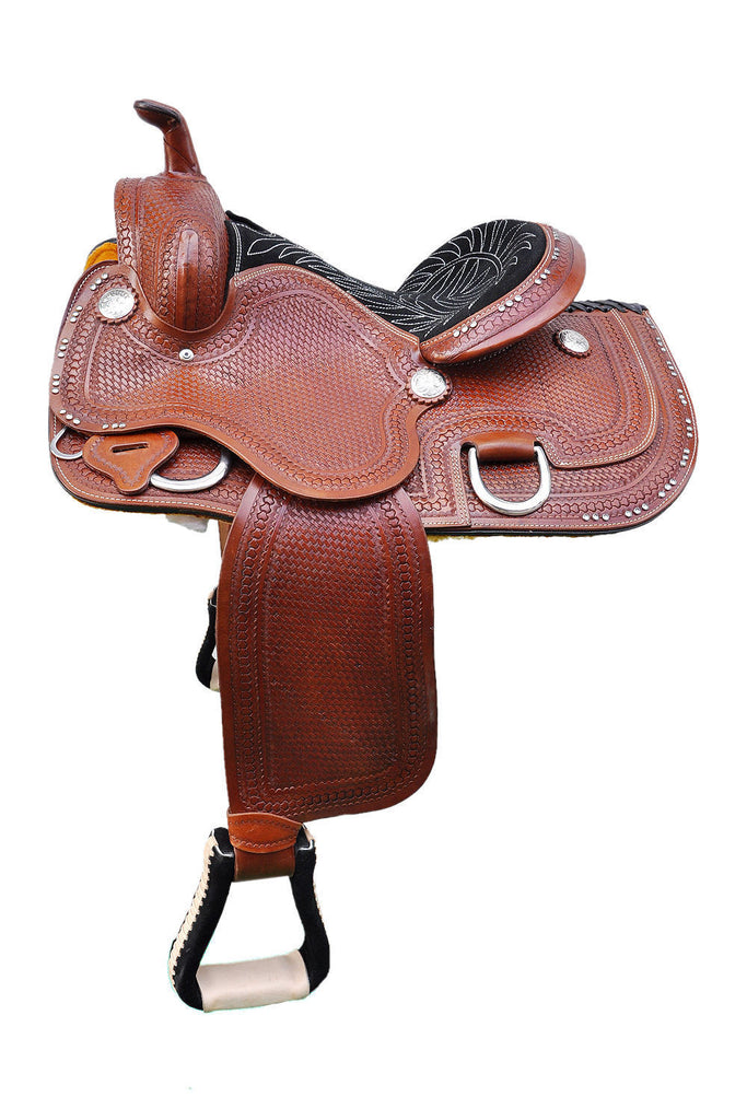 Leather Western Saddle WS-126 - Zohranglobal.com