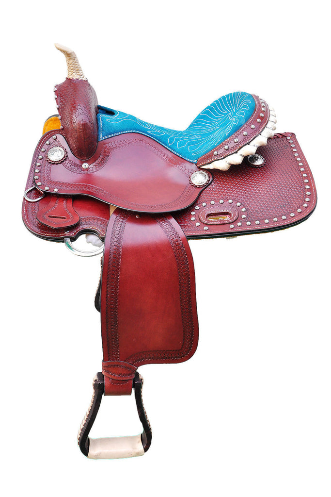 Leather Western Saddle WS-127 - Zohranglobal.com