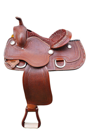 Leather Western Saddle WS-128 - Zohranglobal.com