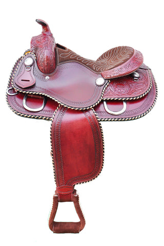 Leather Western Saddle WS-129 - Zohranglobal.com