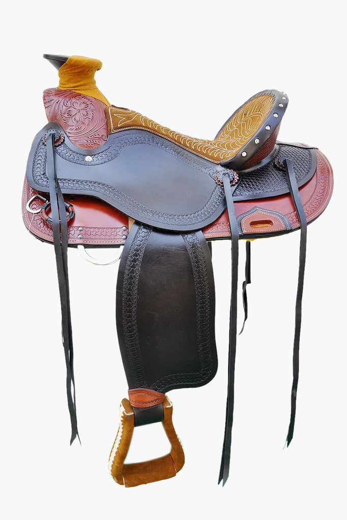 Leather Western Saddle WS-130 - Zohranglobal.com
