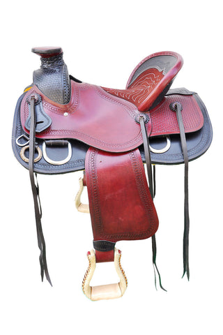 Leather Western Saddle WS-131 - Zohranglobal.com